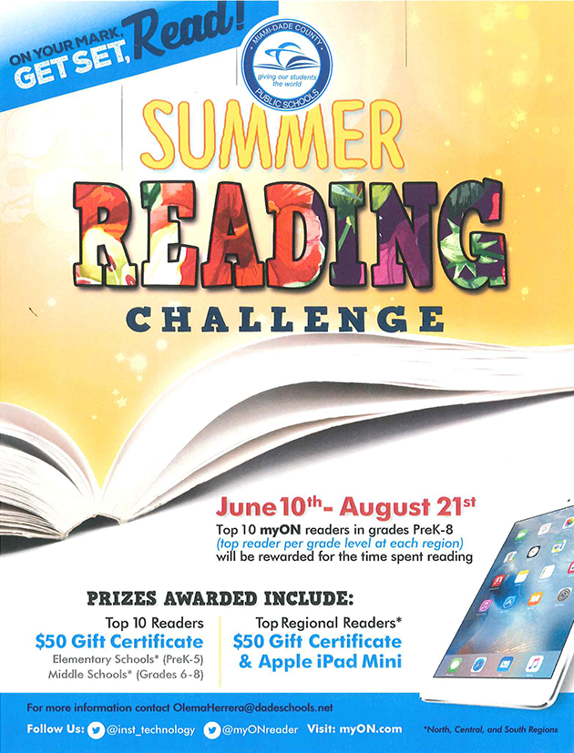 SUMMER READING CHALLENGE FLYER-1