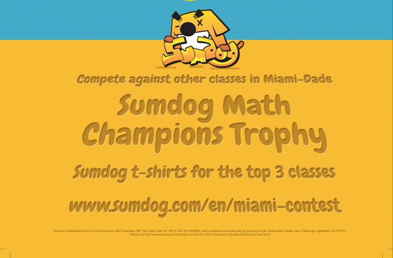 2018 Miami-Dade May Contest Poster