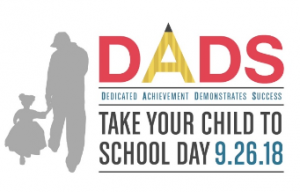DADS take your child to school day image