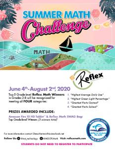 Reflex Summer Math Challenge: Grades 2-5